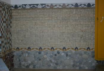 Пример облицовки из натурального камня